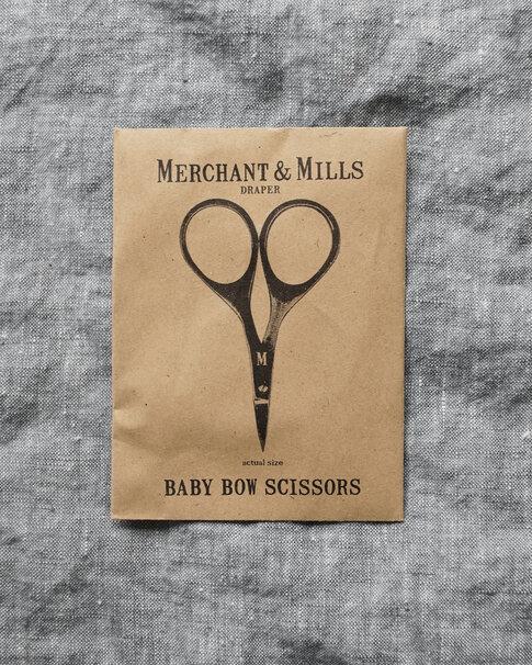 Minibroderisax i svart från Merchant & Mills