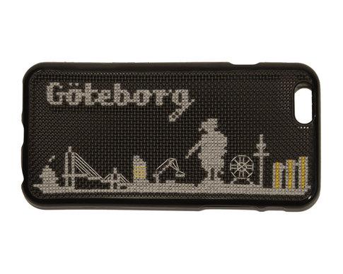 iPhone 6 broderikit - Göteborg skyline