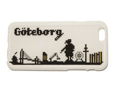 iPhone 6 cross stitch kit - Göteborg skyline