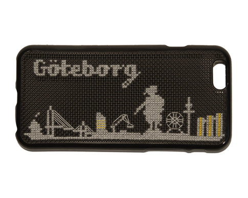 iPhone 5 cross stitch kit - Göteborg skyline