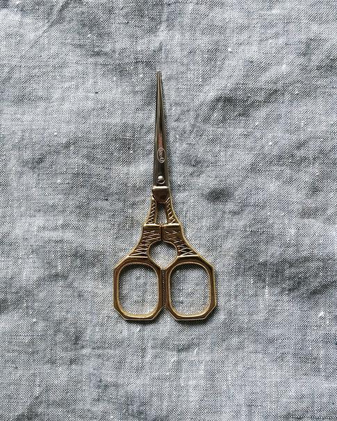 Broderisax - Eiffeltornet i guld