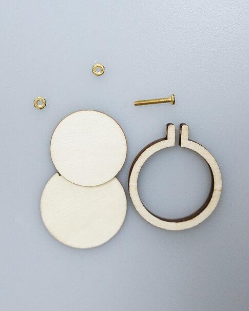 Sybåge i miniformat 4 cm från Dandelyne