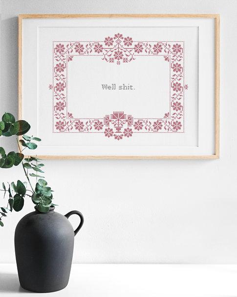 En dejlig rosa - A lovely rose