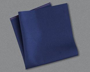 Mörkblå aidaväv i 5,4 kors/cm