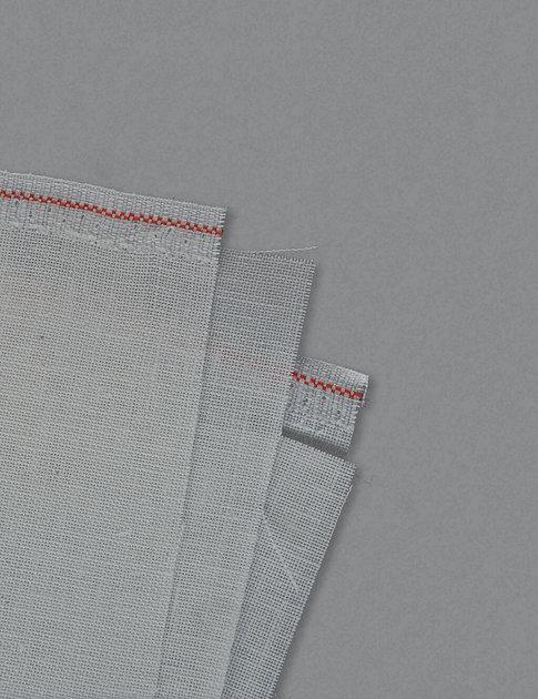 Off-white linen fabric