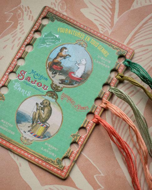 Vacker garnribba från Sajou - Katt och Hund