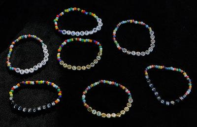 Bracelets shiny/black
