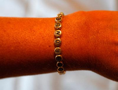 Armband glansiga/silver