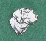 PIN Huvud Labrador