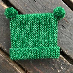 Luddes & Majas mössa - Stick-kit utan stickor
