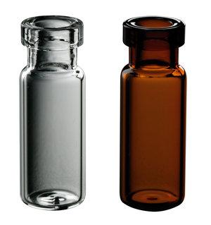 Crimp vial for chromatography, clear, 12x32 mm, 2 ml, 100 pcs