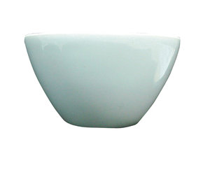 Melting crucible low form, porcelain, Premium Line, 100 ml, 6 pcs