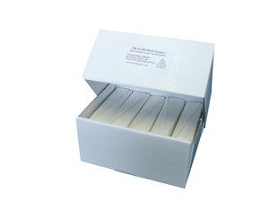 Qualitative folded filter paper, fast flow rate, Ø125 mm, 100 pcs