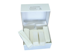 Qualitative folded filter paper, medium flow rate, Ø150 mm, 100 pcs