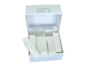 Qualitative folded filter paper, medium flow rate, Ø250 mm, 100 pcs