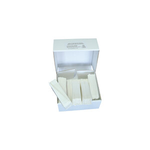 Qualitative folded filter paper, slow flow rate, Ø110 mm, 100 pcs