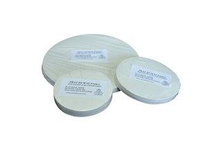 Qualitative folded filter paper for general use, medium flow rate, Ø125 mm, 100 pcs