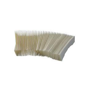 Blotting paper for germination controls, white color, 100 pcs