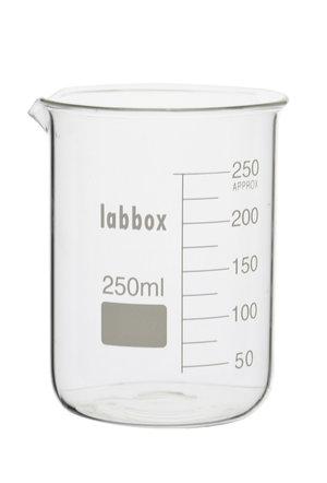 Beaker, low form, 25 ml, LBG 3.3, 12 pcs.