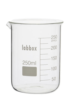 Beaker, low form, 250 ml, LBG 3.3, 12 pcs.