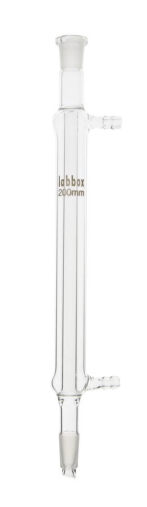 Condenser, straight shape (Liebig-West), 14/23, 150 mm, LBG 3.3, 2 pcs