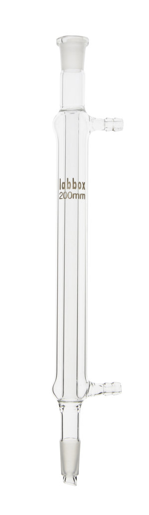 Condenser, straight shape (Liebig-West), 29/32, 200 mm, LBG 3.3, 2 pcs