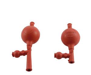 Pipette filler EASY 5, rubber, with 3 valves, standard