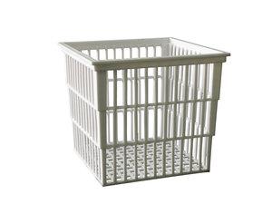 Test tube basket, polypropylene, 140x120x110mm