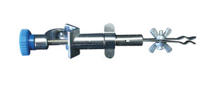 Thermometer extension clamp with bosshead