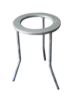 Tripod stand circular top, h 200 mm