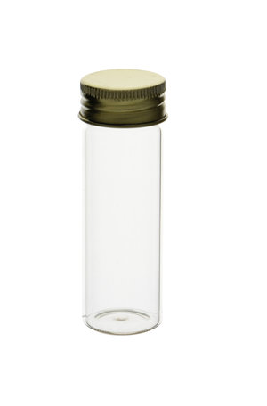 Mc Cartney glass bottle with aluminum screw cap, 25 ml, 125 pcs