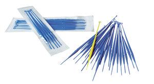 Inoculation loops, calibrated, 10 µl blue color, sterile, 10 pcs/peel pack, 1000 pcs/pack