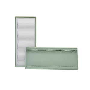 Microslide box for 50 slides, polystyrene
