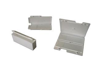 Microscope slide mailer for 2 slides, polypropylene