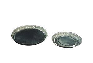 Weighing pans Øint 72 mm, Aluminium,  100 pcs