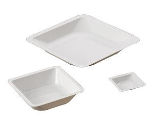 Weighing pan, 41x41 mm, polystyrene, 500 pcs/pack