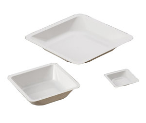 Weighing pan, 89x89 mm, polystyrene, 500 pcs/pack