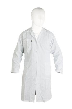Lab-coat 100% cotton, man, white, size M (54 - 56)