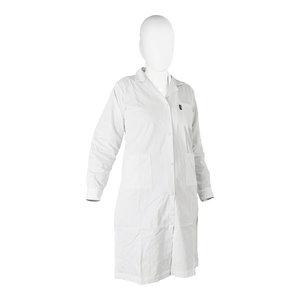 Lab-coat 65% polyester/35% cotton, woman, white, size S (42 - 44)