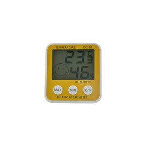Digital indoor thermohygrometer, -10 +50 ºC