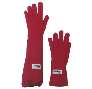 Autoclave gloves, lenght: 30 cm, Medium size, 1 pair