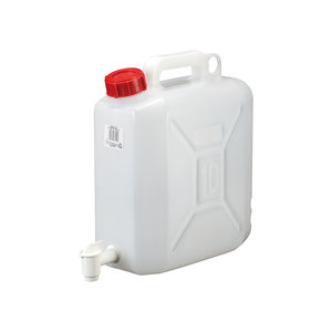Drum with faucet, HDPE, 10 l