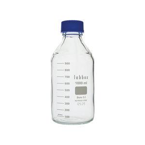 Laboratory bottle with ISO thread, graduated, LBG 3.3, 1000 ml , 10 pcs