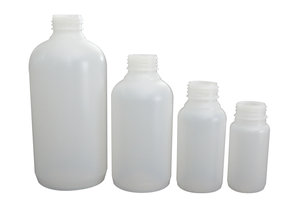 Wide neck bottle, D34, HDPE, 1000 ml, 10 pcs