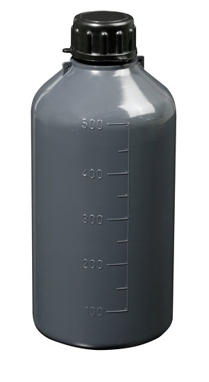 Narrow neck graduated bottle, cylindrical, LDPE, 50 ml, 100 pcs