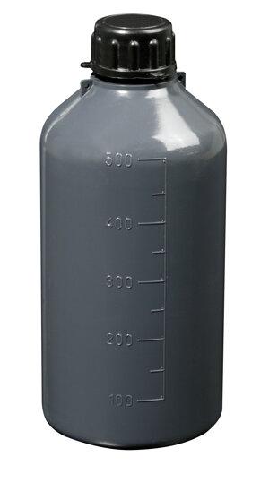 Narrow neck graduated bottle, cylindrical, LDPE, 1000 ml, 100 pcs