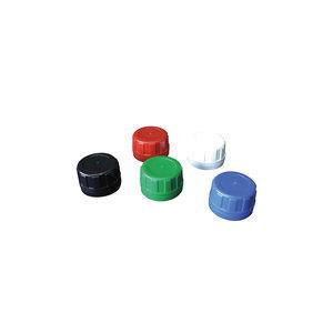 Screw cap with tamper-proof closure D34, white, 10 pcs
