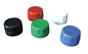 Screw cap with tamper-proof closure D34, green, 10 pcs
