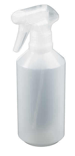 Spray bottle, LDPE, 500 ml