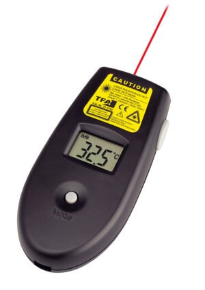 Infrared laser thermometer, -33 +250 ºC, accuracy:± 2 ºC